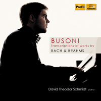 CD-Cover David Theodor Schmidt | Piano